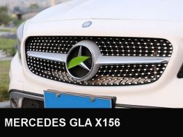 Решётка MERCEDES GLA X156 (13-16) - Diamond стиль