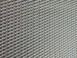 Сетка алюминиевая для автотюнинга серебряная