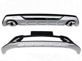 ABS Накладки на бампера KIA Sportage IV (16-18)