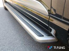 Боковые подножки AUDI Q3 (2011-) - TOUAREG стиль