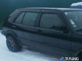 Ветровики VW Golf III (92-97) 5D COBRA