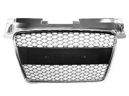 Решётка радиатора AUDI TT 8J (2006-2009) RS хром