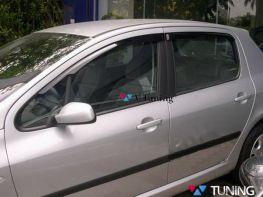 Дефлекторы окон PEUGEOT 308 (07-13) 5D Hatchback - HIC