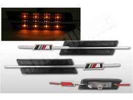 """Повороты боковые BMW 5 E60 / E61 (03-10) """"M"""" LED SMOKE"""