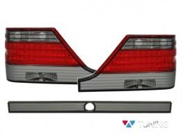 Фонари задние MERCEDES S W140 (95-98) - диодные красно-дымчатые