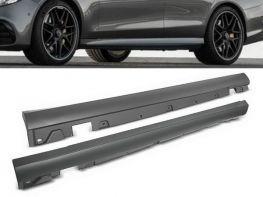 Пороги боковые MERCEDES E W213 (16-18) - AMG стиль