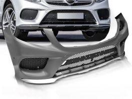 Бампер передний MERCEDES GLE W166 (15-19) - AMG стиль