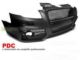 """Бампер передний AUDI A4 B7 (04-07) """"RS"""" BLACK"""