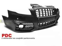 """Бампер передний AUDI A4 B7 (04-07) """"S-Line"""" BLACK"""