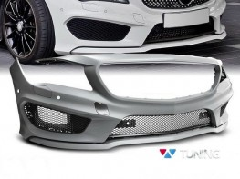 Бампер передний MERCEDES CLA W117 (13-16) - AMG стиль