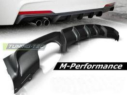 Задний диффузор на бампер M-Performance BMW F30 (12-) Sedan