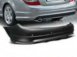 Бампер задний MERCEDES C W204 (07-10) Sedan - AMG стиль