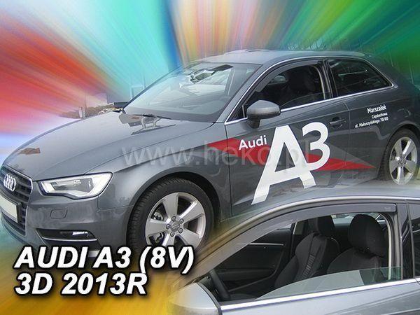 Ветровики AUDI A3 8V (2013-) 3D Hatchback HEKO