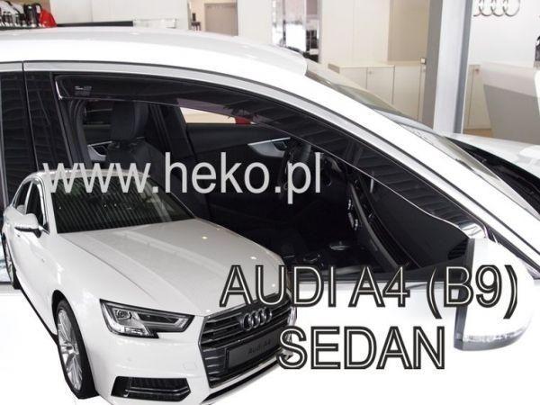 Дефлекторы окон AUDI A4 B9 Sedan - Heko 2