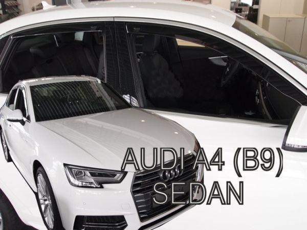 Дефлекторы окон AUDI A4 B9 Sedan - Heko 1