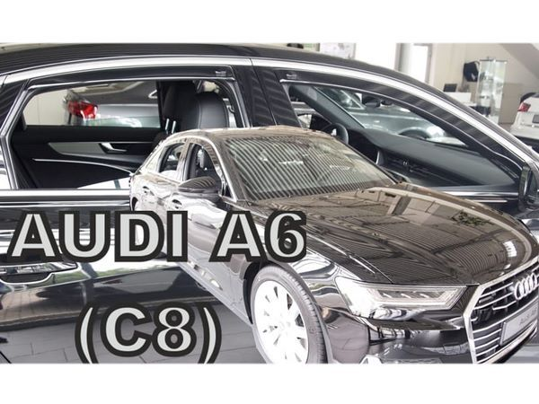 Дефлекторы окон AUDI A6 C8 (2018+) Sedan - Heko 2