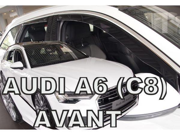 Дефлекторы окон AUDI A6 C8 (2018+) Avant (Combi) - Heko 2