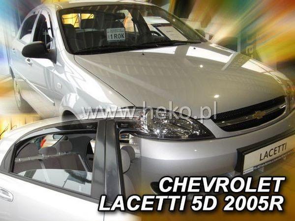 Ветровики CHEVROLET Lacetti (2005-) Hatchback HEKO