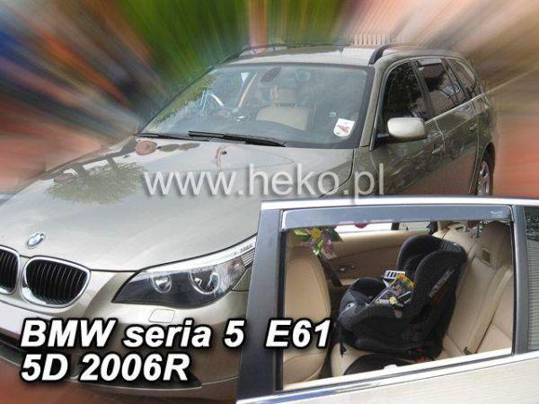 Ветровики BMW 5 E60 (2003-2010) Sedan HEKO