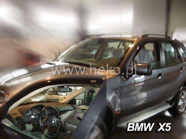 Ветровики BMW X5 E53 (2000-2006) HEKO