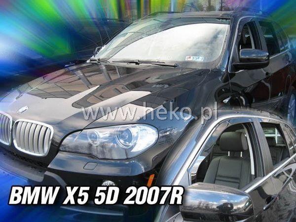 Ветровики BMW X5 E70 (2006-) HEKO