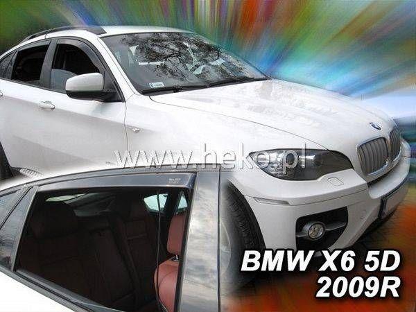 Ветровики BMW X6 E71 / E72 (2008-) HEKO - задние