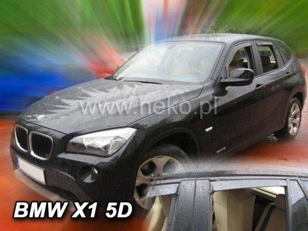 Ветровики BMW X1 E84 (2009-) - HEKO - задние