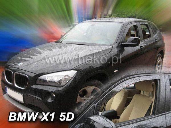 Ветровики BMW X1 E84 (2009-) - HEKO - передние