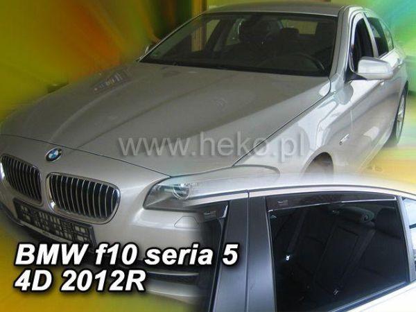 Ветровики BMW 5 F10 (2010-) Sedan HEKO