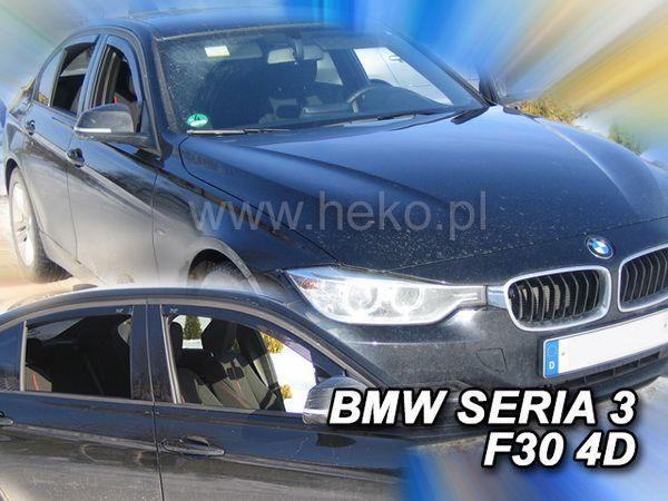 Ветровики BMW F30 (2012-) Sedan HEKO