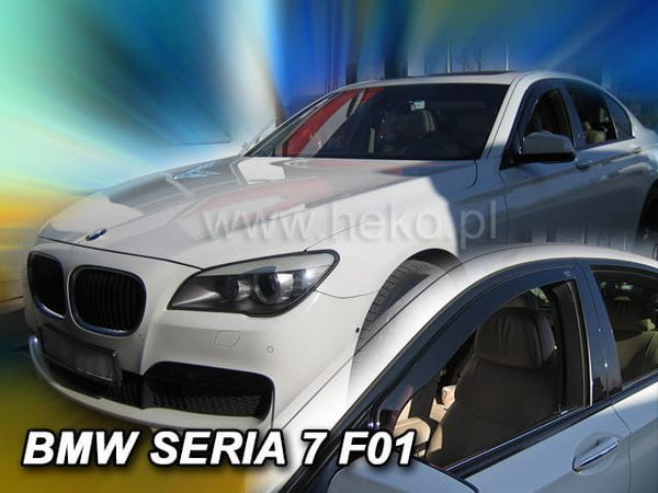 Дефлекторы окон BMW F01 Sedan - Heko (вставные ветровики) 1