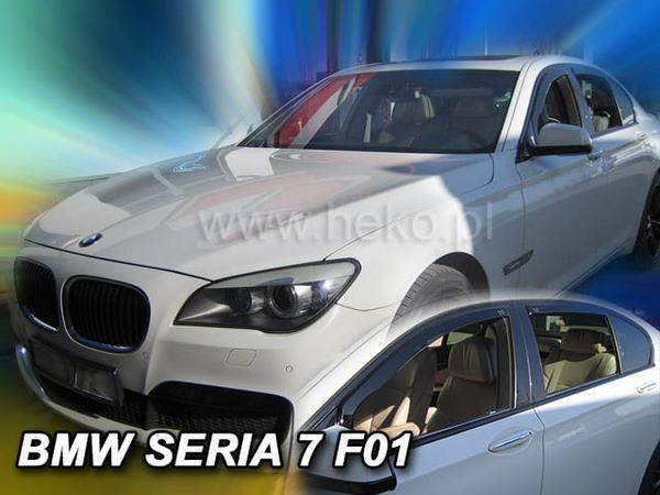 Дефлекторы окон BMW F01 Sedan - Heko (вставные ветровики) 2