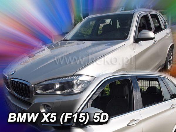 Ветровики BMW X5 F15 (2013-) 5D HEKO