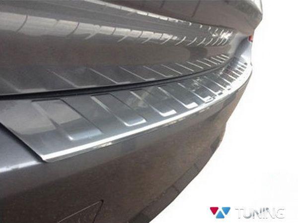Хром накладка на задний бампер BMW X3 F25 OMSA