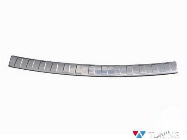 Хром накладка на задний бампер BMW X3 F25 OMSA - фото #2