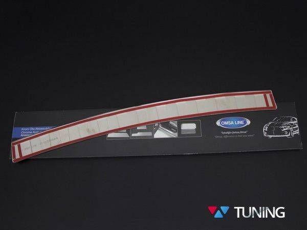 Хром накладка на задний бампер BMW X3 F25 OMSA - фото #6