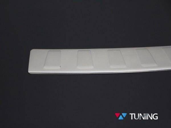 Хром накладка на задний бампер BMW X3 F25 OMSA - фото #7