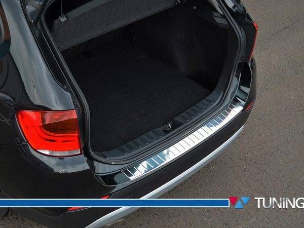Хром накладка на задний бампер BMW X3 F25 OMSA - фото #8