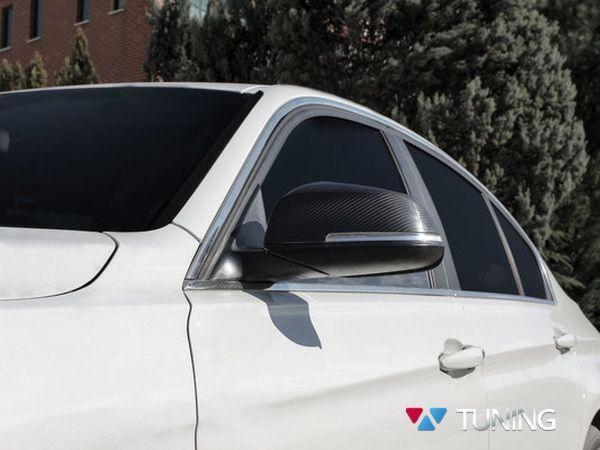 Карбон накладки на зеркала BMW X1 (2009-)