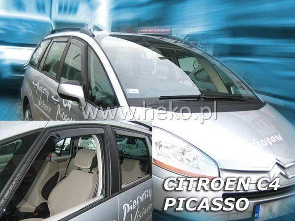 Ветровики CITROEN C4 Picasso Mk1 (06-13) 5D HEKO
