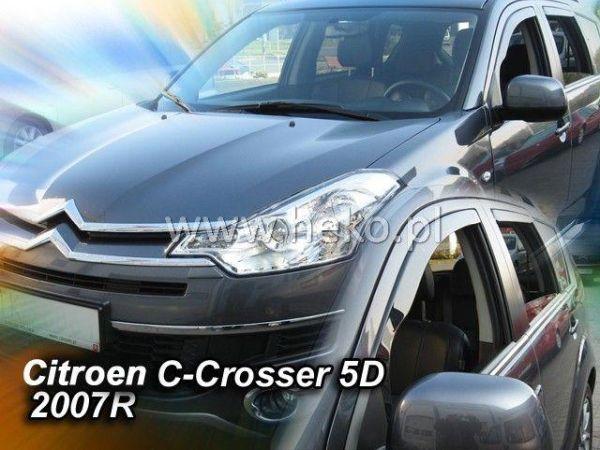 Ветровики CITROEN C-Crosser (2007-) 5D HEKO