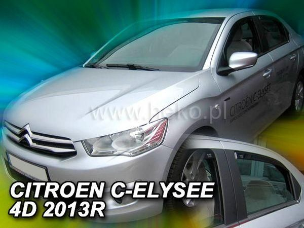 Ветровики CITROEN C-Elysee (2012-) Sedan HEKO