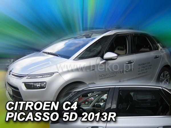 Ветровики CITROEN C4 Picasso Mk2 (2013-) 5D HEKO