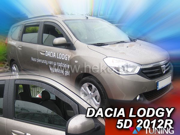 Ветровики (дефлекторы окон) DACIA Dokker - HEKO 2