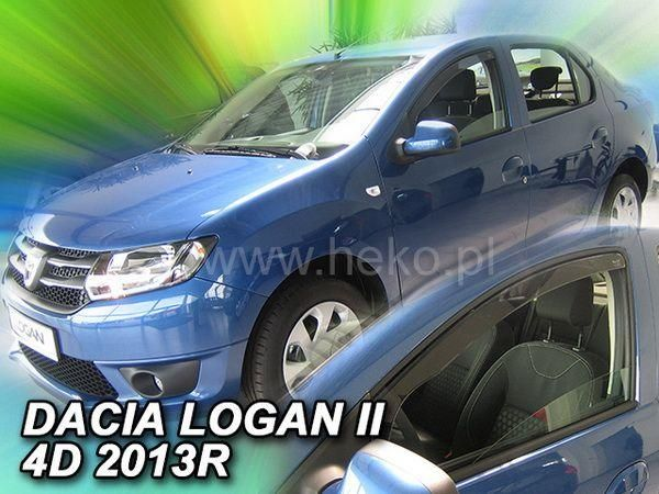 Ветровики DACIA Logan II (2013-) Sedan HEKO