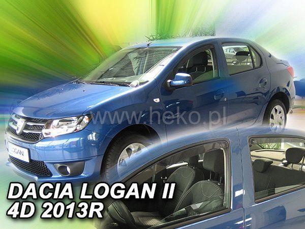 Ветровики DACIA Logan II (2012-) Sedan HEKO