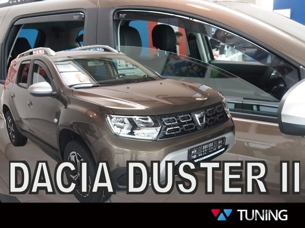 Ветровики DACIA Duster II (2018+) - Heko 2