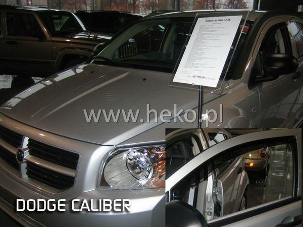 Ветровики DODGE Caliber (2007-2012) 5D HEKO