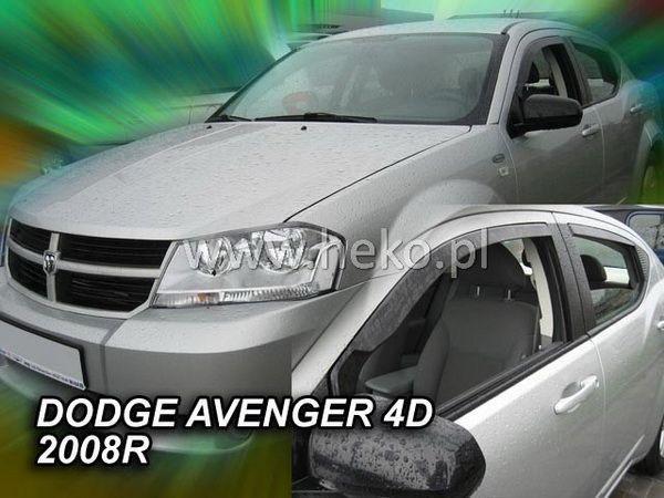 Ветровики DODGE Avenger II (2007-2014) Sedan