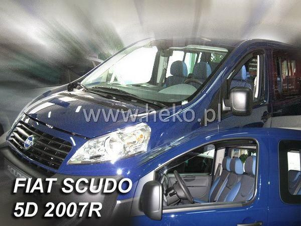 Ветровики FIAT Scudo II (2007-) 5D HEKO